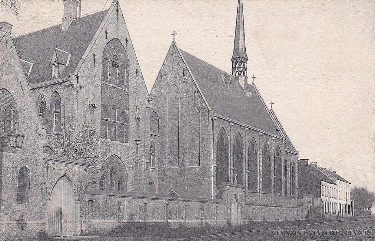 Le collège Saint-Vincent aux alentours de 1874